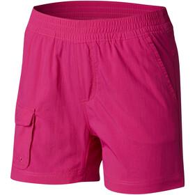 Columbia Silver Ridge Pull-On Spodnie krótkie Dzieci różowy